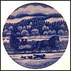 Bringing Home The Tree Collector Plate by Joann Northcott