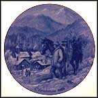 Bringing Home The Tree Collector Plate by Kurt Bauer MAIN