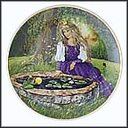 The Frog King Collector Plate by Gerda Neubacher