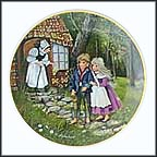 Hansel And Gretel Collector Plate by Gerda Neubacher