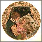 Sleeping Beauty Collector Plate by Gerda Neubacher