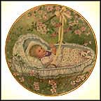 Rockabye Baby Collector Plate by Gerda Neubacher