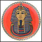 The Gold Mask of King Tutankhamun Collector Plate