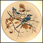 Blue Jays Collector Plate by Glen Loates