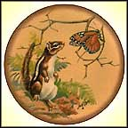 Chipmunk Collector Plate by Lowell Davis