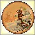 Cottontail Rabbit Collector Plate by Lowell Davis