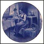 A Mother's Devotion Collector Plate by Nori Peter