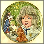 The Christmas Eve Collector Plate by Gerda Neubacher