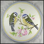 Blue Titmouse Collector Plate by Wolfgang Gawantka