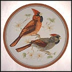 Cardinal Collector Plate by Wolfgang Gawantka