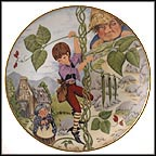 Jack And The Beanstalk Collector Plate by Dorothea King
