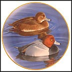 Pair Of Redheads Collector Plate by Trevor Boyer