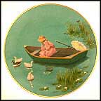 Summer Is Forever Collector Plate by Lorraine Trester MAIN