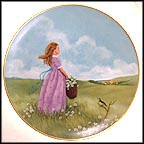 A Time Of Dreaming Collector Plate by Lorraine Trester