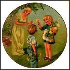 Flowers For Mother Collector Plate by Leslie De Mille