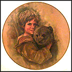 Furry Friends Collector Plate by Leo Jansen