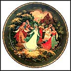 A Dance Of Friendship Collector Plate by Sergei B. Devyatkin