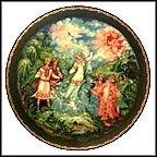 Love's Finale Collector Plate by Sergei M. Dmitriev MAIN