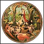 The Fox And The Grapes Collector Plate by Michael Hampshire MAIN