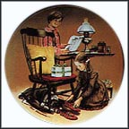 Father's Day Collector Plate by Don Spaulding