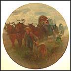 Westward Ho Collector Plate by Mort Künstler