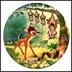 What's Up, Possums? Collector Plate by Disney Studio Artists