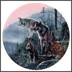 Ahead of the Pack Collector Plate by Kevin Daniel
