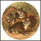 Gone Fishing: Maine Coons Collector Plate by Amy Brackenbury