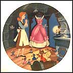 A Dress For Cinderelly Collector Plate by Disney Studio Artists