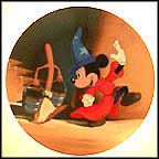 The Mischievous Apprentice Collector Plate by Disney Studio Artists