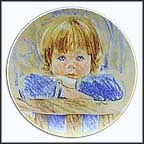 Daydreaming Collector Plate by Frances Hook