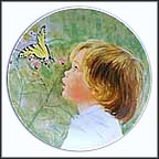 Wonderment Collector Plate by Frances Hook