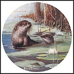 The Otter Collector Plate by Kevin Daniel