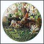The Rabbit Collector Plate by Kevin Daniel