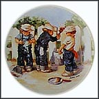 A Coat Of Paint Collector Plate by Jeanne Down