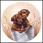 Pail Pals Collector Plate by Lynn Kaatz MAIN