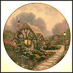 Chandler's Cottage Collector Plate by Thomas Kinkade