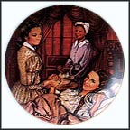 Melanie Gives Birth Collector Plate by Raymond Kursar