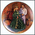 Scarlett's Green Dress Collector Plate by Raymond Kursar MAIN