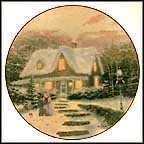 Home To Grandma's Collector Plate by Thomas Kinkade MAIN