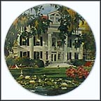 The Greek Revival Collector Plate by Renee McGinnis MAIN