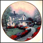 Home Sweet Home Collector Plate by Thomas Kinkade