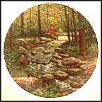 The Murmuring Stream Collector Plate by Bart Jerner