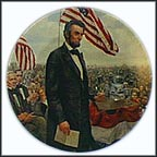 The Gettysburg Address Collector Plate by Mort Künstler