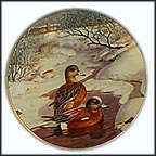 The American Wigeon Collector Plate by Bart Jerner