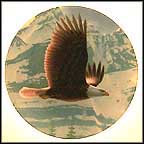 The Bald Eagle Collector Plate by David Smith