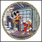 Bah Humbug! Collector Plate by Disney Studio Artists