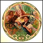 Over The Rainbow Collector Plate by Kimmerle Milnazik