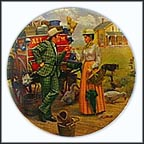 I Cain't Say No Collector Plate by Mort Künstler
