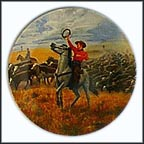 Oklahoma! Collector Plate by Mort Künstler MAIN